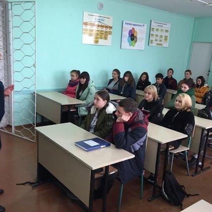 Профилактическая беседа со студентами первых курсов